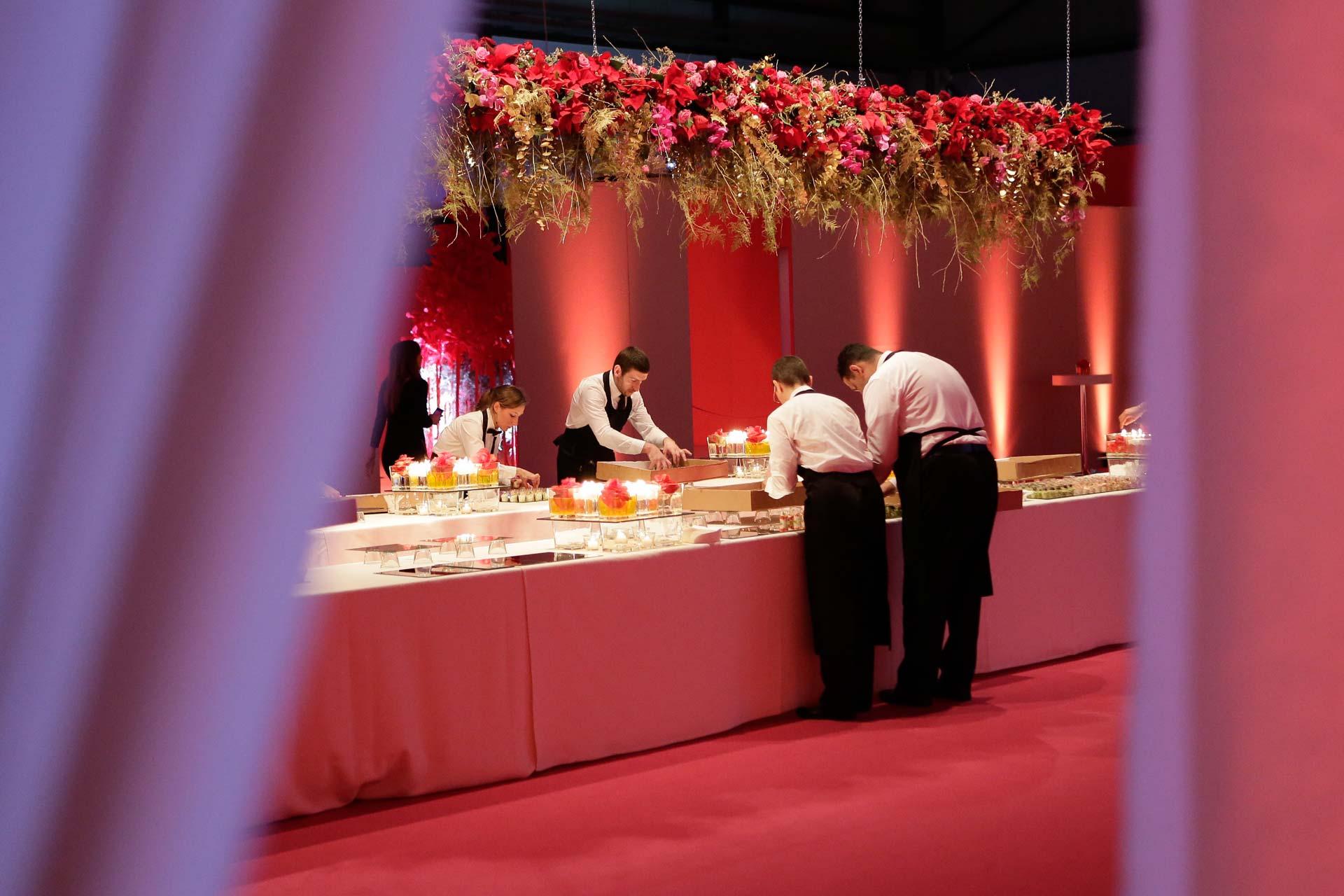 Food design eventi aziendali