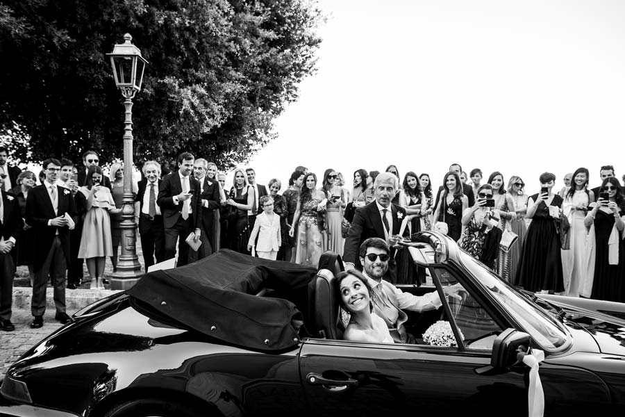 Organizzazione wedding a party nuziale