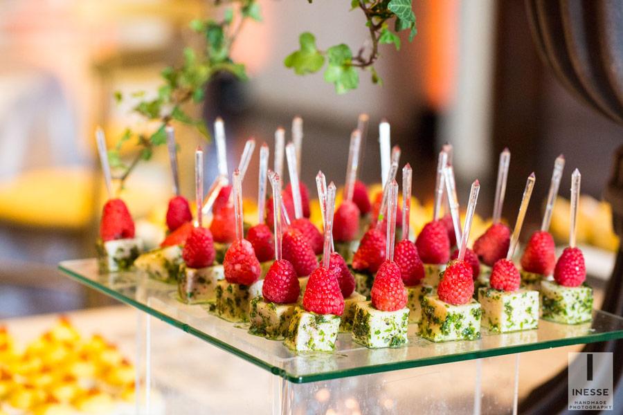Food design per matrimoni