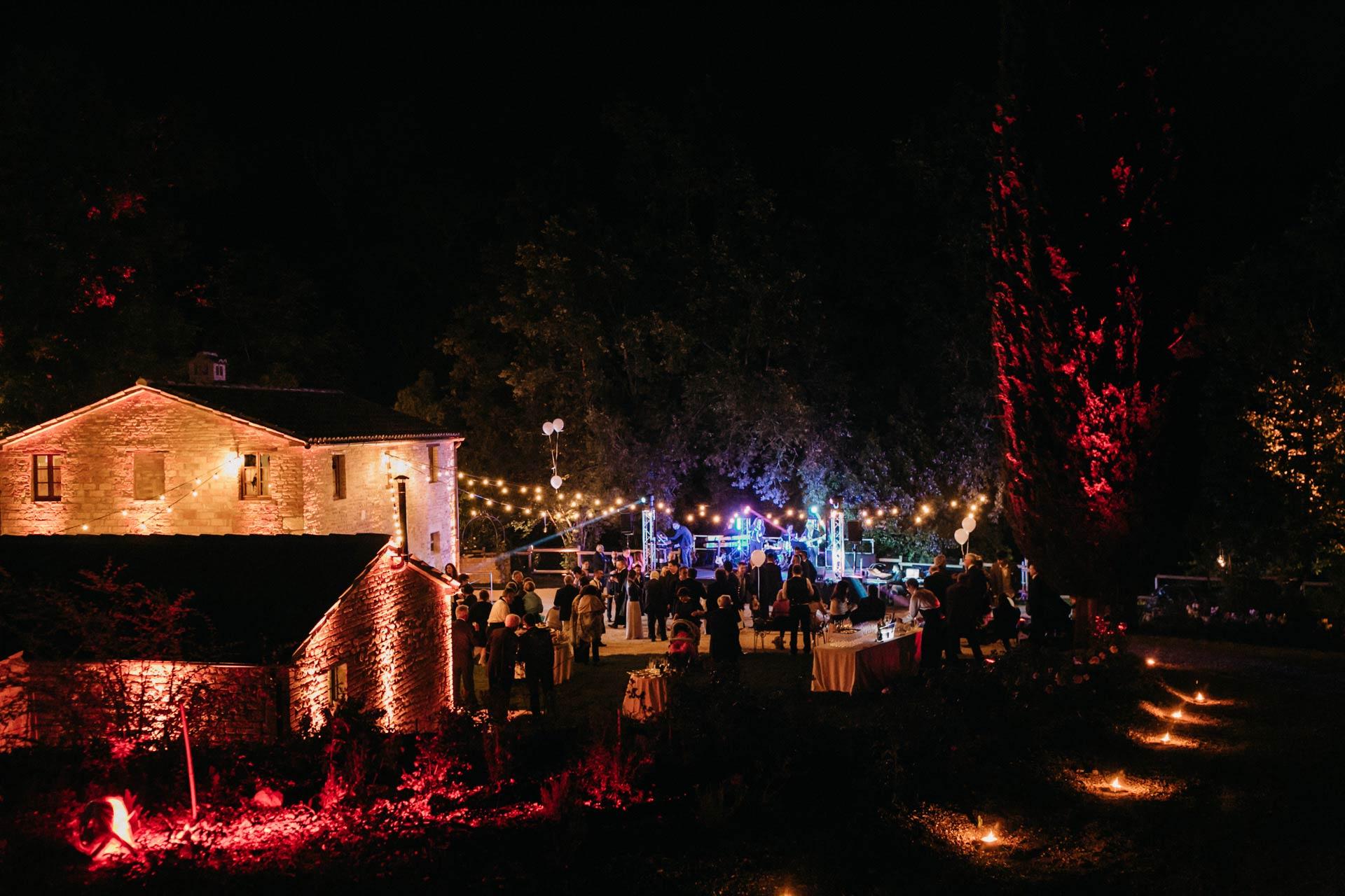 ricerca e allestimento wedding location