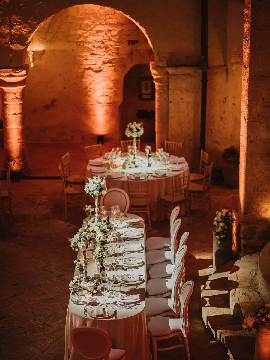 organizzazione matrimonio abbazia in Umbria