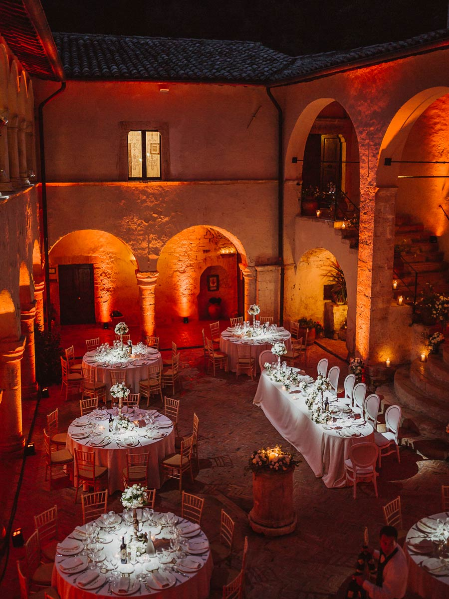 Wedding in to Abbey – Ferentillo